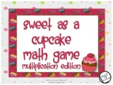 Multiplication Math Pack: Sweet as a Cupcake/ Football Fun
