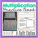 Multiplication Practice Book