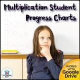 Multiplication Fact Mastery Student Progress Chart and Ass