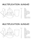 Multiplication Sundae Incentive Party Set