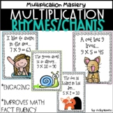 Multiplication rhymes and chants Mega Pack