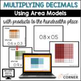 Multiplying Decimals with Products to the Hundredths using