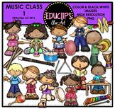 Music Class Clip Art Bundle