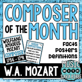 Music Composer of the Month: Mozart- Bulletin Board Pack