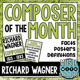 Music Composer of the Month: Wagner- Bulletin Board Pack