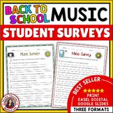 Music Interest Surveys