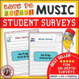 Music Interest Surveys
