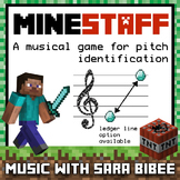 Music Jeopardy- MineSTAFF: Treble Clef
