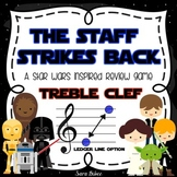 Music Jeopardy- The Staff Strikes Back- Treble Clef
