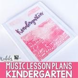 Music Lesson Plans - Kindergarten {36 Lessons}