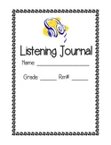Music: Listening Journal Title and Entry Pages