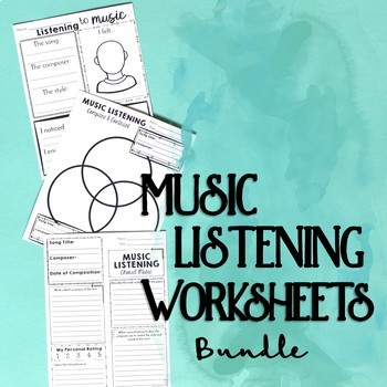 https://www.teacherspayteachers.com/Product/Music-Listening-Worksheet-Bundle-816536