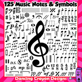 Music Notes and Symbols - Clip Art