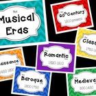 Musical Era Posters