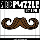 Mustache Mania Clipart Freebie