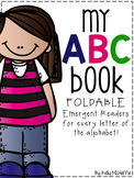 My ABC Book {foldable emergent readers}
