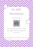 My ABC Workbook Vowel Freebie
