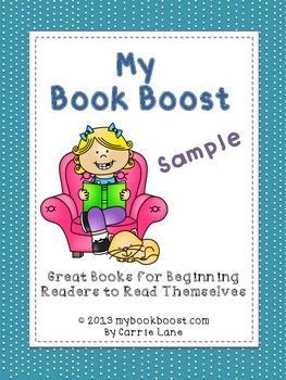 https://www.teacherspayteachers.com/Product/My-Book-Boost-Sample-491456