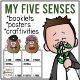 My Five Senses {Student Booklet}