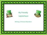 My Friendly Leprechaun Narrative Powerpoint