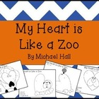 My Heart Is Like a ZOO (color by letter) FREEBIE!