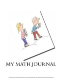My Math Journal - Perfect for Common Core Inquiry-based Learning