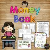 My Money Book Coins and Dollar Kindergarten & First Grade