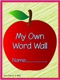 My Own Word Wall