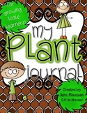 My Plant Journal [for growing, little learners!]