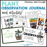 My Plant Observation Journal {and other plant activities}