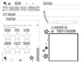My Sermon Notes for Church - Boy (Stars)