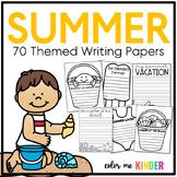 My Summer Snapshot! Back-to-School Writing Craftivity