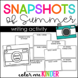 A Snapshot of my Summer Mini Book