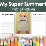 My Super Summer Writing Craftivity - A Back-to-School Activity