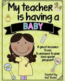 My Teacher is Having a Baby