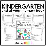 My Year in Kindergarten: A Keepsake Booklet
