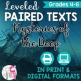 Mysteries of the Deep Paired Texts Grades 4-8 (Constructed