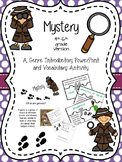 Mystery Genre Intro and Activity for 4th-6th