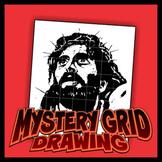 Mystery Grid Drawing - Jesus 2-pack
