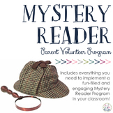 Mystery Reader Classroom Packet