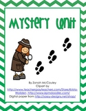Mystery Reading Unit