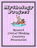 Mythology Project - Research, Critical Thinking, & Creativity!