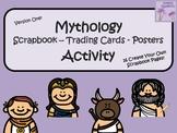 Greek Mythology Scrapbook/Trading Cards/Posters Activity (