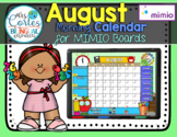NEW!! MIMIO Calendar Math- August (English)
