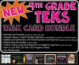 NEW TEKS TASK CARD BUNDLE! (New and Revised Texas TEKS)