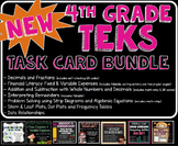 NEW TEKS TASK CARD BUNDLE! (New and Revised Texas TEKS)