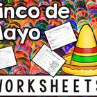 NO PREP Cinco de Mayo Printables: Literacy Center Reading