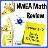 NWEA MAP Math Review (All Math Strands RIT 170 - 240)