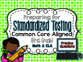 Standardized Testing Practice - First Grade {Aligned to Co