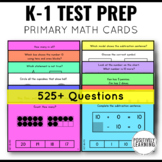 NWEA MAP Primary Math Quick Question Cards
